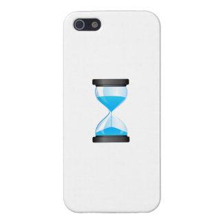 Contador de tiempo de la arena del reloj de arena iPhone 5 coberturas