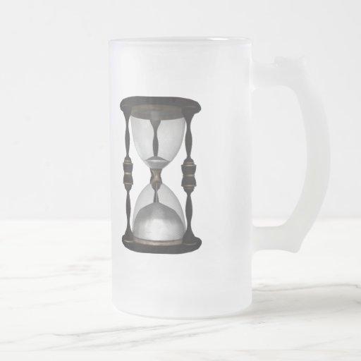 Contador de tiempo de semitono de la arena del rel taza de café