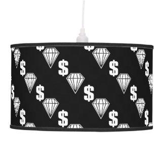 Contador de tiempo grande lámpara de techo
