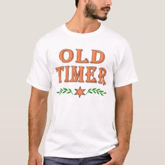 Contador de tiempo viejo playera