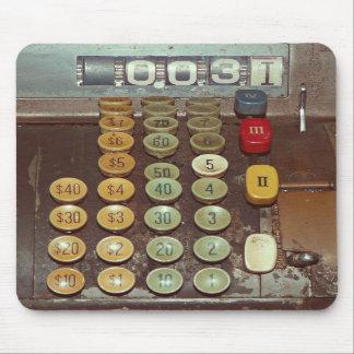 Contador del dinero viejo - caja registradora anti tapetes de raton