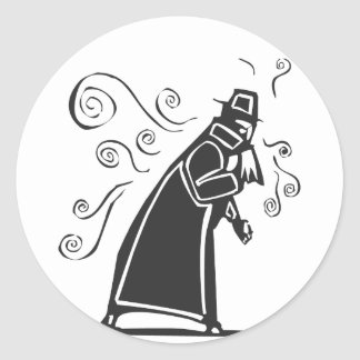 Contagious Flu 1 Classic Round Sticker