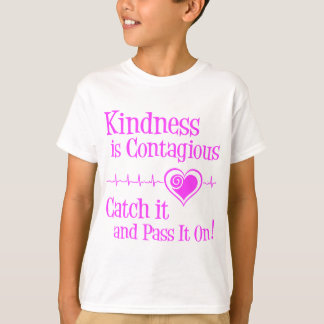 Contagious, hot pink T-Shirt