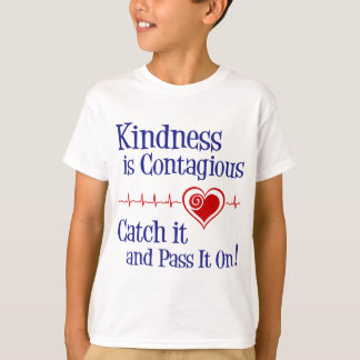 Contagious, navy blue T-Shirt
