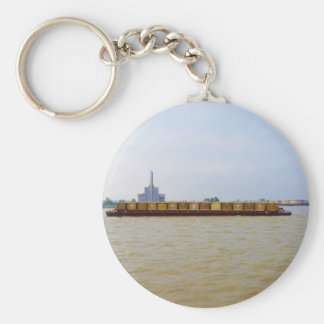 Container Barge Keychain