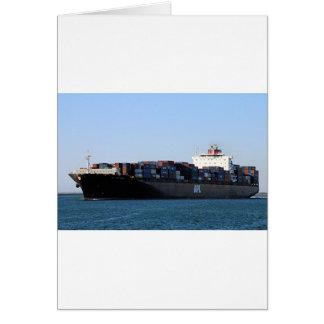 Container cargo ship 6 card