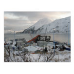 Container Crane Destroyed by Gale Force Winds Post Cards