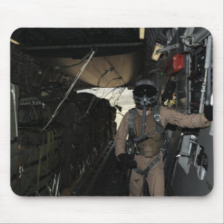 Container Delivery System bundles exit a C-17 Mouse Pad