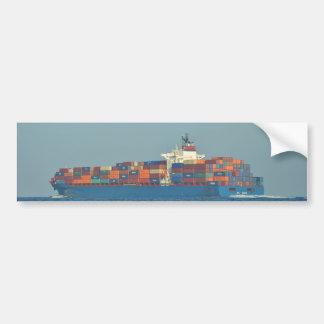 Container Ship APL CHILE Bumper Sticker