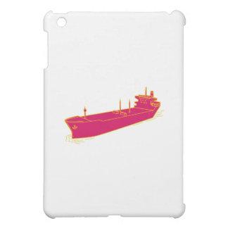 Container Ship Cargo Boat Mono Line Case For The iPad Mini