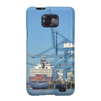 Container Ship Dock Samsung Galaxy S2 Cover