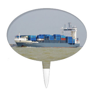 Container Ship Emily Borchard Cake Pick