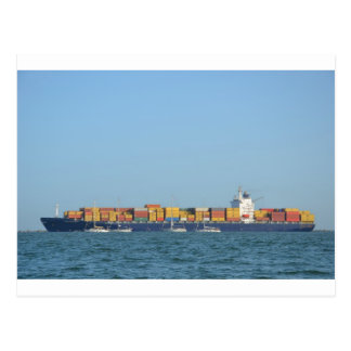 Container Ship Northern Dignity Postcard