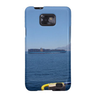 Container Ship Off Morocco Galaxy S2 Cover