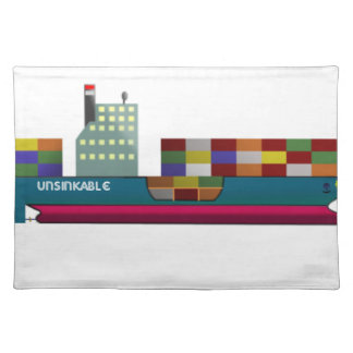 Container Ship Placemat