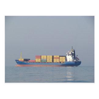 Container Ship Volos Postcard