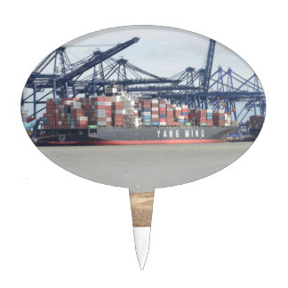 Container Ship YM Unity Cake Topper