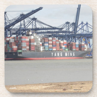 Container Ship YM Unity Drink Coaster