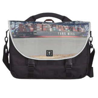 Container Ship YM Unity Laptop Messenger Bag