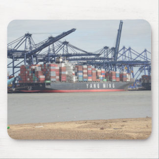 Container Ship YM Unity Mouse Pad