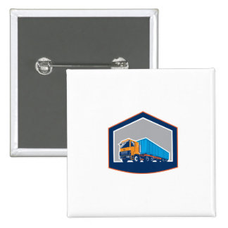 Container Truck and Trailer Shield Retro Pins