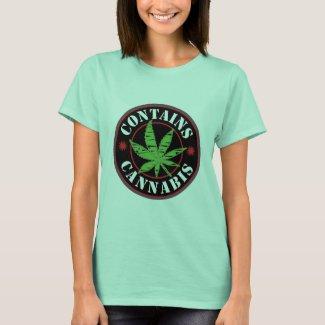 Contains Cannabis T-Shirt