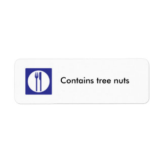 Contains Tree Nuts label