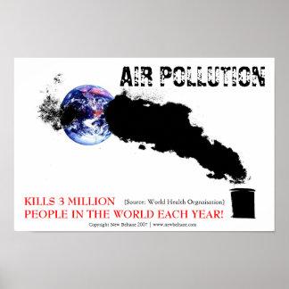 Contaminación atmosférica póster