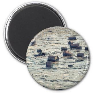 Contaminación Imán Redondo 5 Cm