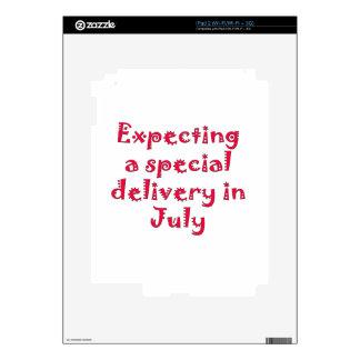 Contando con una entrega especial en julio skins para eliPad 2