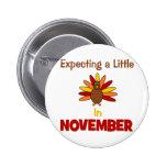 ¡Contando con una pequeña Turquía en noviembre! Pins