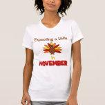 ¡Contando con una pequeña Turquía en noviembre! Camisetas