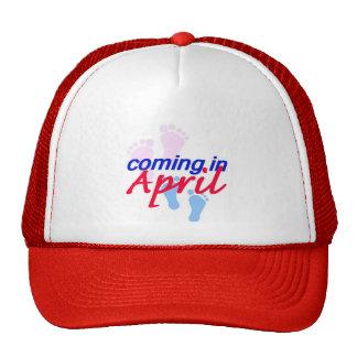 Contar con el gorra de ABRIL
