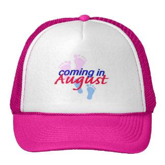 Contar con el gorra de AGOSTO