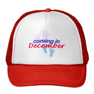 Contar con el gorra de DICIEMBRE