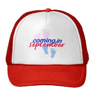 Contar con el gorra de SEPTIEMBRE