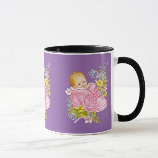 Contar con madres y a nuevas mamáes taza