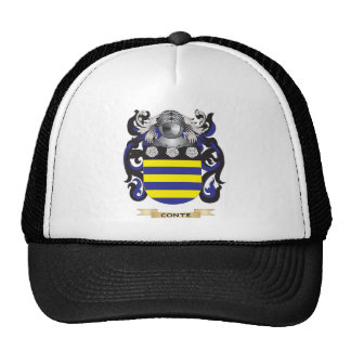 Conte Coat of Arms Hat