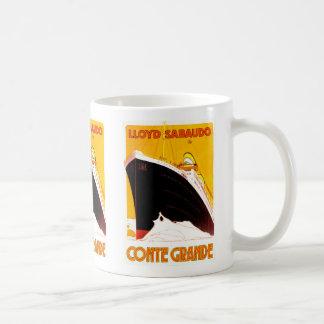 Conte Grande Classic White Coffee Mug