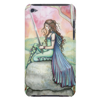 Contemplating Guinivere Fantasy Fairytale Art Barely There iPod Covers