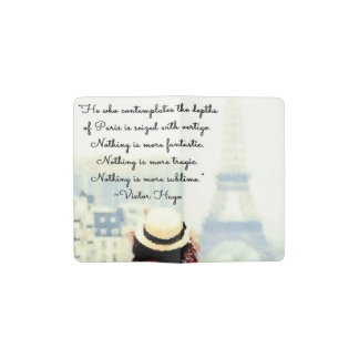 Contemplating Paris Pocket Moleskine Notebook