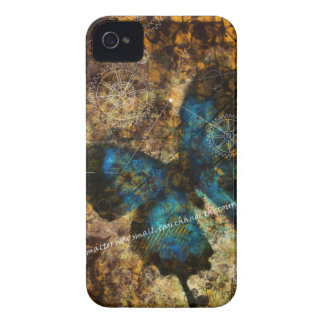 Contemplating The Butterfly Effect Case-Mate iPhone 4 Case