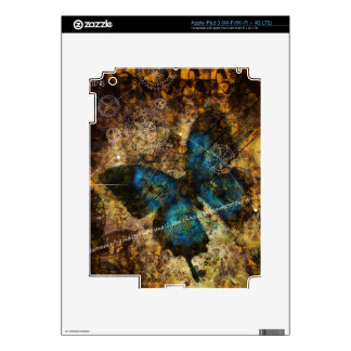 Contemplating The Butterfly Effect Decal For iPad 3