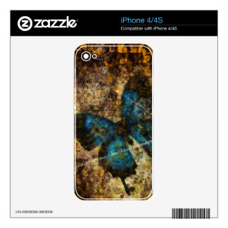 Contemplating The Butterfly Effect Decals For The iPhone 4
