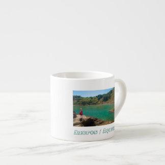 Contemplating the lagoon espresso cup