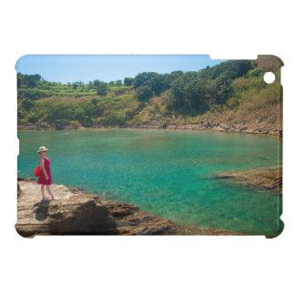 Contemplating the lagoon iPad mini covers