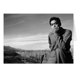 Contemplation at Manzanar, 1943 Card