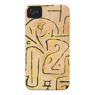 Contemplation by Paul Klee iPhone 4 Case