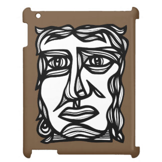 """Contemplation Face"" iPad Case"