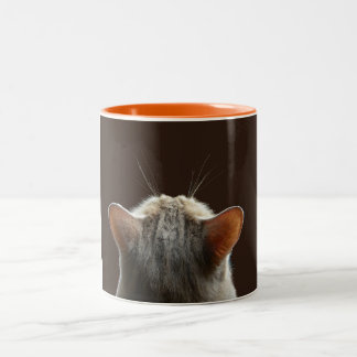 contemplation (mug) Two-Tone coffee mug
